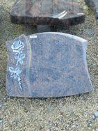 20611 Liegestein Himalaya Form P104 50x40x6cm