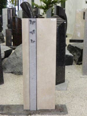 SF 069 Oberteil Gohara Limestone Orion Poliert Form SF 2017.03 7x12x100cm 21x12x100cm 7×15,5x100cm