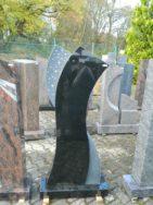 0804 Oberteil Indish Black Poliert Matt Form 14 18 55x14x130cm 65x20x8cm