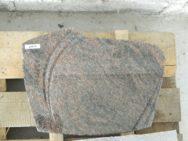 20614 Liegestein Himalaya Poliert Form P127 40x30x6cm