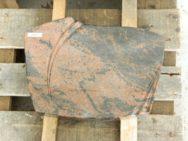 20617 Liegestein Kastania Poliert Form P127 40x30x6cm