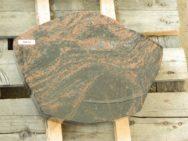 20618 Liegestein Kastania Poliert Form P105 40x30x6cm
