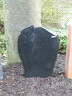 0695 Oberteil Indisch Black Poliert Form 1438A 45x12x65cm