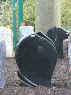 0698 Oberteil Indisch Black Poliert Form 1374A 45x12x65cm