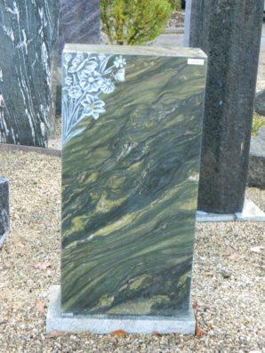 0711 Oberteil Verde Victoria Poliert Form 38 18 Ornament 35x14x70cm