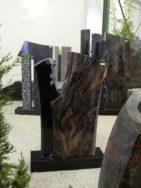 0722 Oberteil Indish Black Kastania Poliert Matt Form 20 18 Ornament 20x14x84cm 45x14x90cm 65x20x10cm