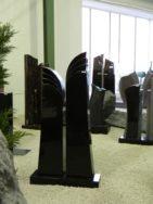 0730 Oberteil Indish Black Poliert Form 26 18 27x14x110cm 27x14x125cm 70x20x8cm