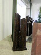 0731 Oberteil Kastania Poliert Form 44 18 25x15x130cm 25x15x115cm 55x25x6cm