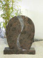 0736 Oberteil Himalaya Poliert Form 46 28 Ornament 80x14x95cm 90x20x14cm