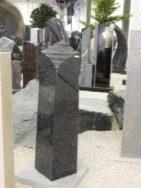 0747 Oberteil Steel Grey Poliert Form 1272 25x25x105cm