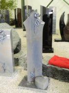 0749 Oberteil Azul Macaubas Poliert Form 1503 28x12x100cm