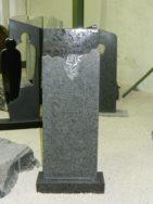 0795 Oberteil Steel Grey Poliert Gebürstet Form 41 18 Ornament 40x14x110cm 50x20x8cm