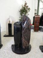 0819 Oberteil Kastania Indish Black Form UST JK 5 2017 30x16x100cm 25x16x80cm 65x40x6cm