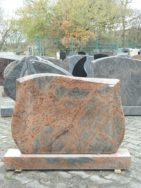 0854 Oberteil MC Rot Form 272 100x12x70cm 110x18x12cm