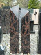 0863 Oberteil Kastania Form 1302 25x15x130cm 25x15x120cm