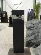 0872 Oberteil Cambrian Black Form 27 19 25x15x80cm 25x15x11cm