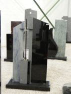0898 Oberteil Ind.Black Azul Macaubas Form AB 16 01 15x12x92cm 28x12x100cm 14x12x35cm 60x25x6cm