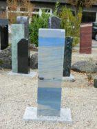 0932 Stele Azul Macaubas 30x13x108cm