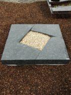 90253 Urnengrab UR 82 12 Steel Grey