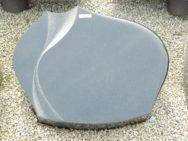 20741 Liegestein Indish Black Form L123 50x40x12cm