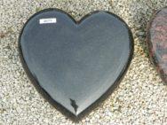 20775 Liegestein Indish Black Form H1 30x30x8cm