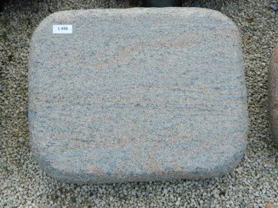L 498 Liegestein Halmstad Geflammt 50x40x12cm