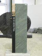 SF 0078 Oberteil Indish Black Dorfer Grün Form SF 2016.01 6x13x80cm 24x12x100cm